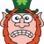 Frightened Saint Patrick's Day Leprechaun stock photo © zooco