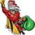 karácsony · táska · tele · ajándékok · illusztráció · terv - stock fotó © zooco