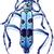 mavi · iki · noktalar · uzay · metin · görüntü - stok fotoğraf © zooco