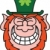 St Paddy's Day Leprechaun Grinning stock photo © zooco