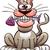 смешные · жира · мыши · Cartoon · позируют · улыбка - Сток-фото © zooco