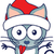 cute · cat · indossare · Hat · primo · piano - foto d'archivio © zooco