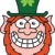 Embarrassed Saint Paddy's Day Leprechaun stock photo © zooco