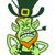 homme · rouge · barbe · jour · de · St · Patrick · illustration · vert - photo stock © zooco