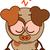 pequeno · cão · marrom · sentimento · bonitinho · estilo - foto stock © zooco