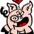 porc · jour · illustration · porcs · célébrer · animaux - photo stock © zooco