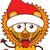 cute lion wearing santa hat and celebrating christmas stock photo © zooco