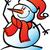 christmas · sneeuwpop · hoed · cute - stockfoto © zooco