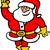 Navidad · feliz · mano · postal · alegre - foto stock © zooco