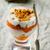 yoghurt · gezonde · vers · fruit · mint · vruchten · leven - stockfoto © zoryanchik