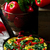 fritatta with potato pepper and swiss chard stock photo © zoryanchik