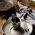 ヴィンテージ · 銀食器 · 素朴な · 木製 · 食品 · 木材 - ストックフォト © zoryanchik