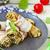 бекон · завтрак · яйцо · белый · растительное - Сток-фото © zoryanchik