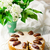 dates cake with glaze stock photo © zoryanchik