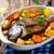 魚 · フィレット · ニンジン · バジル · 選択フォーカス - ストックフォト © zoryanchik