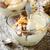 cheesecake · vetro · cioccolato · mascarpone · frutta · sfondo - foto d'archivio © zoryanchik
