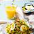 kedgeree with a smoked mackerel stock photo © zoryanchik