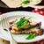 mantar · peynir · kahvaltı · jambon · yemek · diyet - stok fotoğraf © zoryanchik