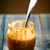 creme · caramelo · ingrediente · comida · madeira · fundo - foto stock © zoryanchik