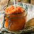 marrow pate in glass jarstyle rustic stock photo © zoryanchik