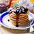 kása · palacsinták · áfonya · reggeli · ebéd · édes - stock fotó © zoryanchik