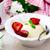 the panna cotta  with plum sauce stock photo © zoryanchik