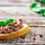 szendvics · tyúk · máj · fehér · sütés · papír - stock fotó © zoryanchik