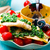 filete · París · mantequilla · servido · hortalizas - foto stock © zoryanchik
