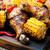 cajun · куриные · кукурузы · обеда · мяса · обед - Сток-фото © zoryanchik