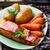 жареный · лосося · овощей · выстрел · стейк - Сток-фото © zoryanchik