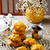 pumpkin cookies with cinnamon glazestyle rustic stock photo © zoryanchik