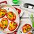 pieprz · nadziewany · spaghetti · biały · tablicy · selektywne · focus - zdjęcia stock © zoryanchik