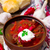 orosz · piros · tejföl · étel · kenyér · vacsora - stock fotó © zoryanchik