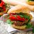 телятина · Burger · Сыр · из · козьего · молока · перец · избирательный · подход · продовольствие - Сток-фото © zoryanchik