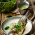 trout stewed with sauce from a sorrel stock photo © zoryanchik