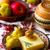 スライス · 羊 · チーズ · はちみつ · 梨 · プレート - ストックフォト © zoryanchik
