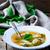 soup with a sorrel selective focus stock photo © zoryanchik