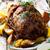 cordeiro · em · batata · fundo · carne - foto stock © zoryanchik