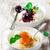 tejberizs · bogyók · fókusz · reggeli · fehér · desszert - stock fotó © zoryanchik