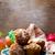 lezzetli · organik · badem · kiraz · fincan - stok fotoğraf © zoryanchik