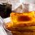francia · reggeli · desszert · croissantok · kávé · gyümölcs - stock fotó © zoryanchik