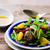 チキンサラダ · サラダ · 焼き鳥 · アボカド · トマト - ストックフォト © zoryanchik