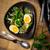mustár · pisztráng · rusztikus · sült · étel · tányér - stock fotó © zoryanchik