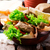 fresco · saboroso · presunto · legumes · frescos · queijo - foto stock © zoryanchik