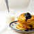 abóbora · panquecas · fundo · laranja · outono · café · da · manhã - foto stock © zoryanchik