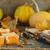 pumpkin pie about cream cheese stock photo © zoryanchik