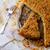 szilva · pite · házi · készítésű · sütés · edény · rusztikus - stock fotó © zoryanchik