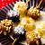 gyümölcs · nyárs · csokoládé · étel · reggeli · banán - stock fotó © zoryanchik