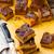 chocolate swirl pumpkin bars stock photo © zoryanchik