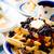 Yunan · yoğurt · meyve · arka · plan · kahvaltı - stok fotoğraf © zoryanchik